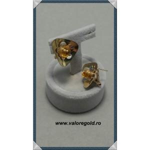 Cercei dama - 14 k - 5.60 gr
